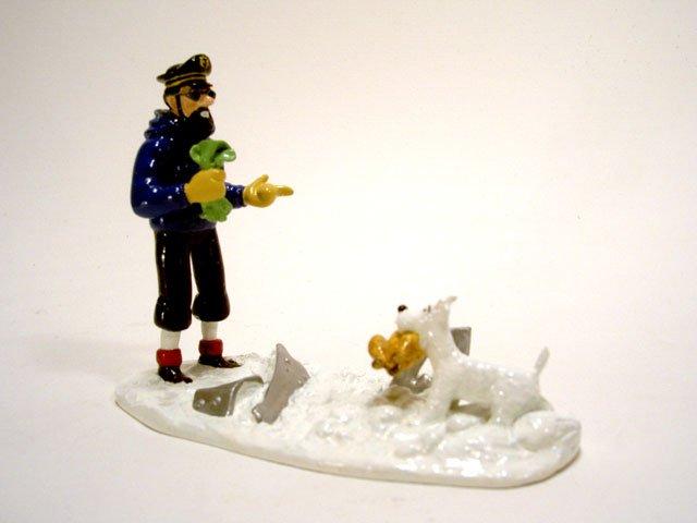 Tintin Milou Haddock Haddock et Milou Poulet
